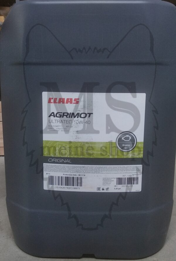 CLAAS AGRIMOT Ultratec 10W40, CLAAS, CLAAS 10W-40, CLAAS масло, запчасти CLAAS,